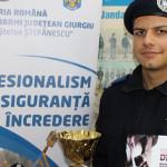 """KARATE: Jandarm giugiuvean, locul I la turneul internaţional """"Buchares..."""