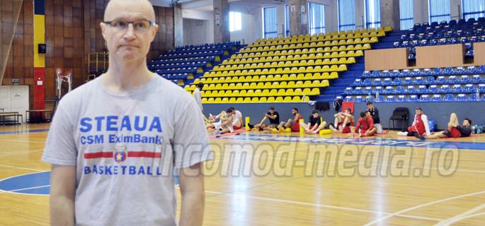Jukka Toijala 1 - antrenor Steaua CSM Eximbank Bucureşti