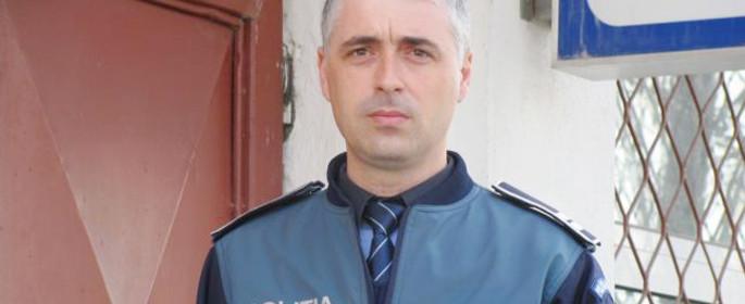 Agentul şef adjunct Gabriel Andronescu - Poliţia Transporturi Călăraşi (Sursa foto: Adevărul - I.S.)