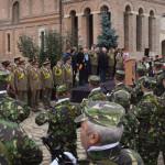Ziua Armatei Române, celebrată fără presă la Târgovişte!