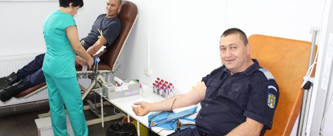 donare sange jandarmi dambovita 1