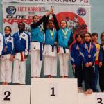KARATE: Sportivii din Dâmboviţa, prezenţă numeroasă pe podium la Londr...