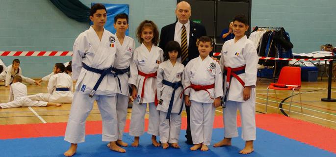 karate londra - munteanu club