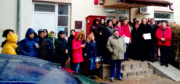 protest APIA Dambovita