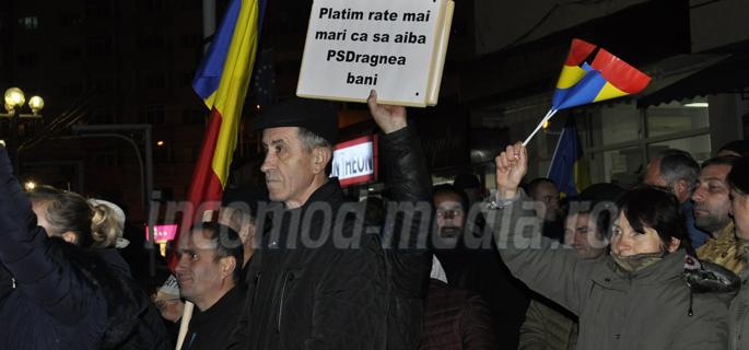 protest PNL Dambovita 1