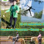 TABĂRĂ: 36 de elevi de la Şcoala