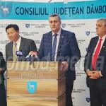VIZITĂ: Delegaţie din China, prezentă la Consiliul Judeţean Dâmboviţa
