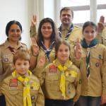 FOTO: Cercetaşii României i-au făcut fericiţi pe copiii de la grădiniţ...