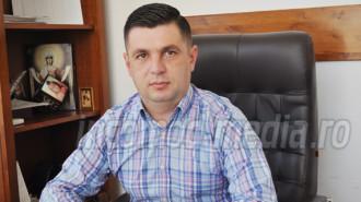 Ionuţ Bănică - primarul comunei Corbii Mari