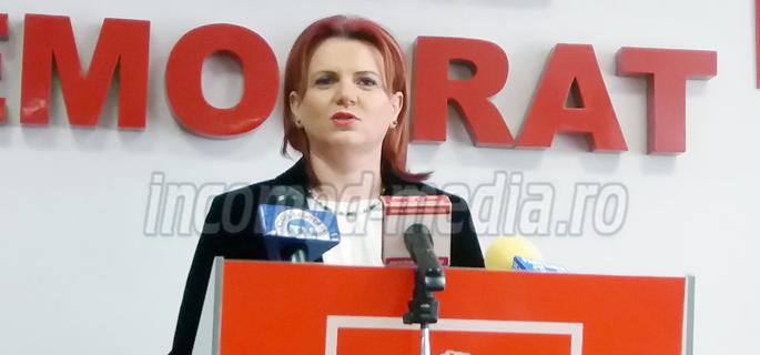 Claudia Gilia - deputat, preşedinta OFSD Dâmboviţa