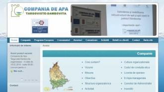 site compania de apa