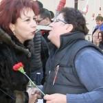 DÂMBOVIŢA: Mărţişoare, flori şi urări de bine pentru femeile din Ieder...