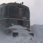DÂMBOVIŢA: Un tren cu 80 de călători este blocat la Nucet