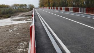 Aşa arăta podul peste râul Ialomiţa din comuna Finta în ziua inaugurării