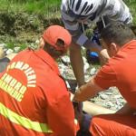 DÂMBOVIŢA: Biciclist accidentat în vârf de munte, după ce a pierdut co...