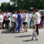 DÂMBOVIŢA: Protest spontan la Spitalul Găeşti! Asistentele vorbesc des...