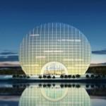 UIMITOR: Chinezii au construit un hotel care imită răsăritul soarelui....