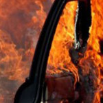 TELEORMAN: Bolid de lux, incendiat noaptea trecută la Alexandria!