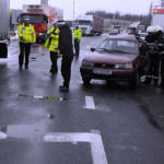 IALOMIŢA: A scăpat printr-o minune, după ce autoturismul pe care-l con...