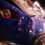 TELEORMAN: Accident  cu patru victime şi o maşină incendiată pe centur...