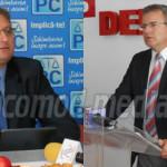 DÂMBOVIŢA: Deputaţii Georgică Dumitru şi Ionuţ Săvoiu promovează coope...