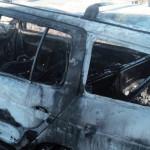 TELEORMAN: Câtă prostie! Şi-a ars maşina odată cu gunoaiele şi vegetaţ...