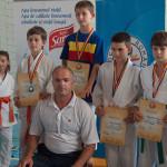 """Judoka de la CS Târgovişte au terminat cu fruntea sus Turneul """"Alina D..."""