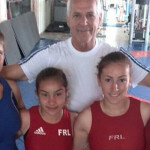 """LUPTE: Patru luptătoare dâmboviţene, sub """"tricolor"""""""