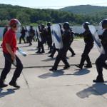 FOTO: Fără vacanţă! Jandarmii sunt instruiţi continuu în Centrul de Pe...