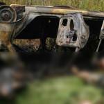 TELEORMAN: Doi oameni au ars de vii într-un accident rutier la Turnu M...