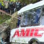 VIDEO: 3 morţi şi 21 de răniţi, într-un accident de circulaţie în jude...