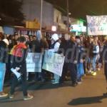 PROTEST: Târgoviştenii mărşăluiesc pe străzile oraşului împotriva sist...
