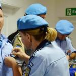 DISTINCŢIE: Jandarm român, medaliat de ONU pentru misiunea în Haiti