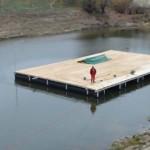 GIURGIU: Scenă plutitoare şi spaţiu de promenadă cu facilităţi moderne...