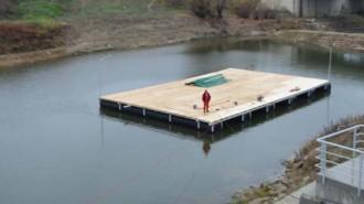 scena plutitoare giurgiu