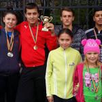 CSŞ TÂRGOVIŞTE: Beatrice Constantin, medaliată cu aur la oină
