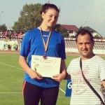 ATLETISM: Beatrice Maer a cucerit bronzul la aruncarea discului