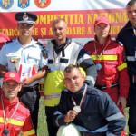 Pompierii din DÂMBOVIŢA, vicecampioni naţionali la descarcerare din ve...