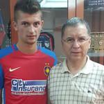 FOTBAL: Găeşteanul Florin Tănase a debutat cu gol la Steaua