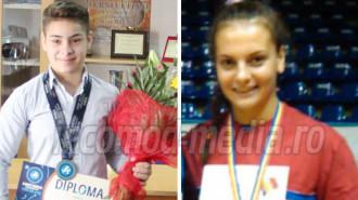 Maria Cioclea (stânga) - Diana Vlăsceanu (dreapta)