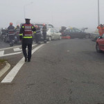 CARAMBOL: Trei morţi şi 57 de răniţi într-un accident în lanţ pe Autos...
