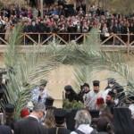 MINUNE: De Bobotează, apele Iordanului curg în sens invers