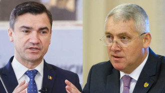 Mihai Chirică (stânga) - Adrian Ţuţuianu (dreapta)