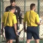 FOTBAL: Ofițerii IPJ Dâmbovița au descins la instituția condusă de Emi...