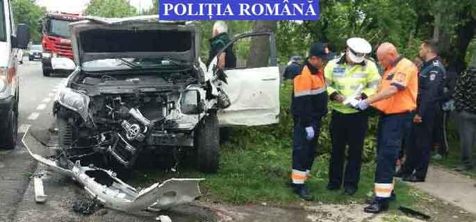 accident cazanesti ialomita