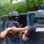FLAGRANT: Hoţi de lemne, opriţi de jandarmi cu focuri de armă!