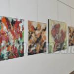 FOTO: Prima expoziţie de pictură în Galeria de Artă