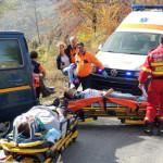 EXERCIŢIU: Accident rutier în Bucegi, urmat de declanşarea planului ro...