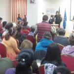 DÂMBOVIŢA: Campanie pentru creşterea prezenţei la vot la europarlament...